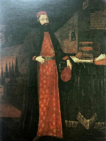 Venetian dragoman in Istanbul, late 17th century